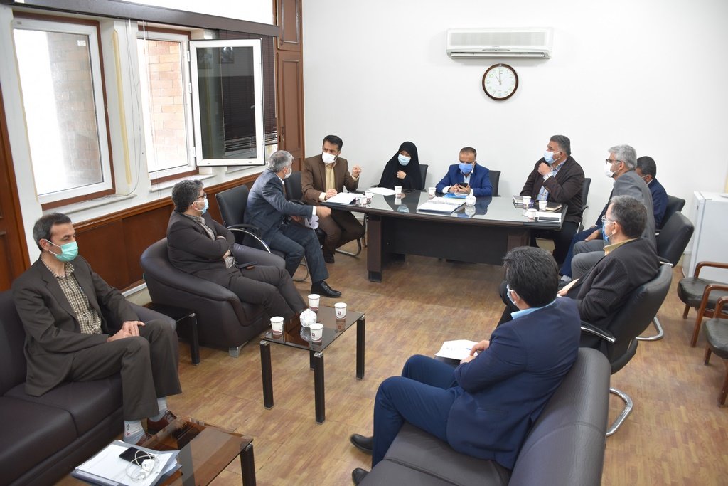 جلسه مشترک پیگیری واگذاری اراضی شهر لالی برگزار شد