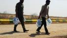 ۳۵ هزار بطری آب آشامیدنی در مناطق درگیر تنش آبی خوزستان توزیع شد