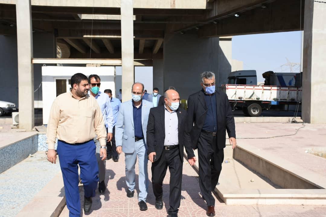 گزارش تصویری بازدید از گیت های مستقر در خرمشهر