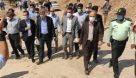 گزارش تصویری بازدید دکتر علی اکبر محرابیان وزیر نیرو از تاسیسات آب و برق غدیر